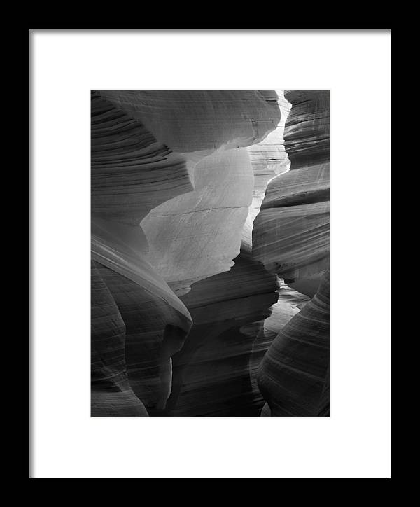 Slot Framed Print featuring the photograph Lower Antelope Canyon 2214 by Bob Neiman