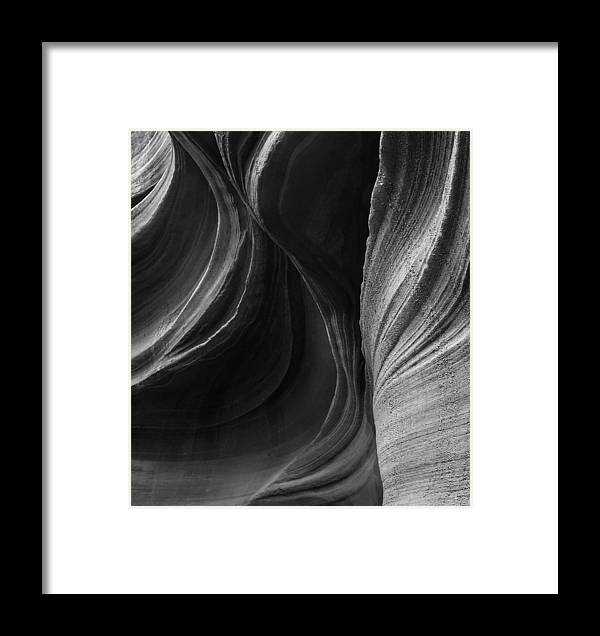 Slot Framed Print featuring the photograph Lower Antelope Canyon 2217 by Bob Neiman