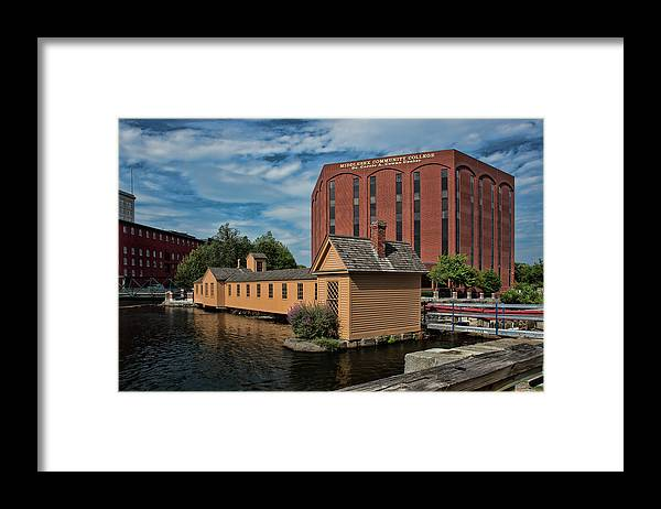 Lower Locks Framed Print featuring the photograph Lower Locks by Lee Fortier