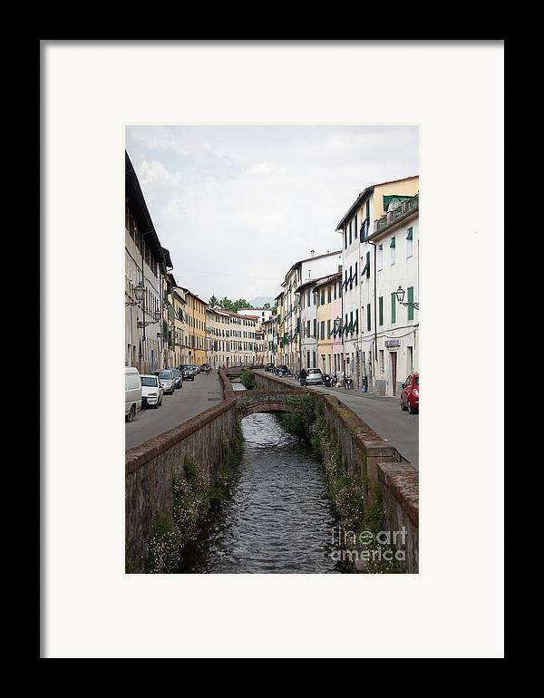 Lucca Framed Print featuring the photograph Lucca by Steven Gray