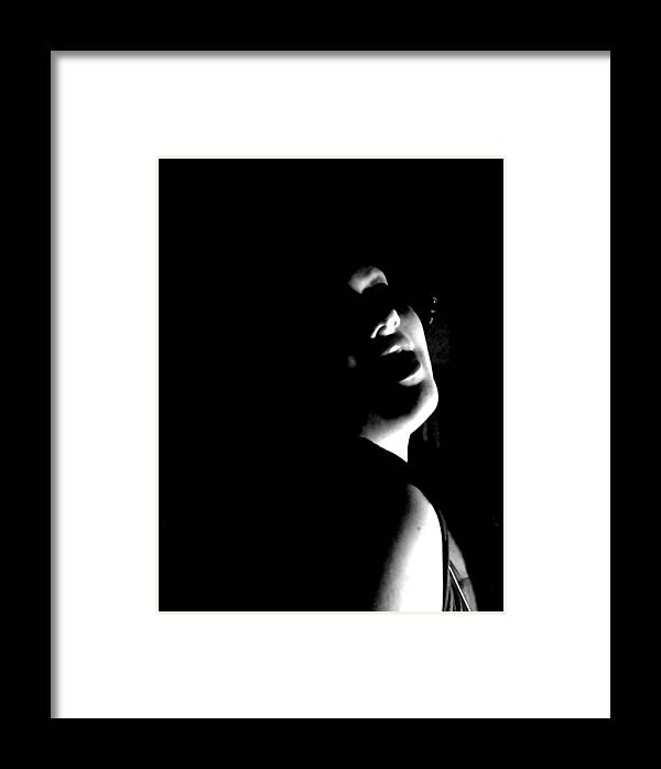 Woman Framed Print featuring the photograph Lucious Sudlety by Scarlett Royal