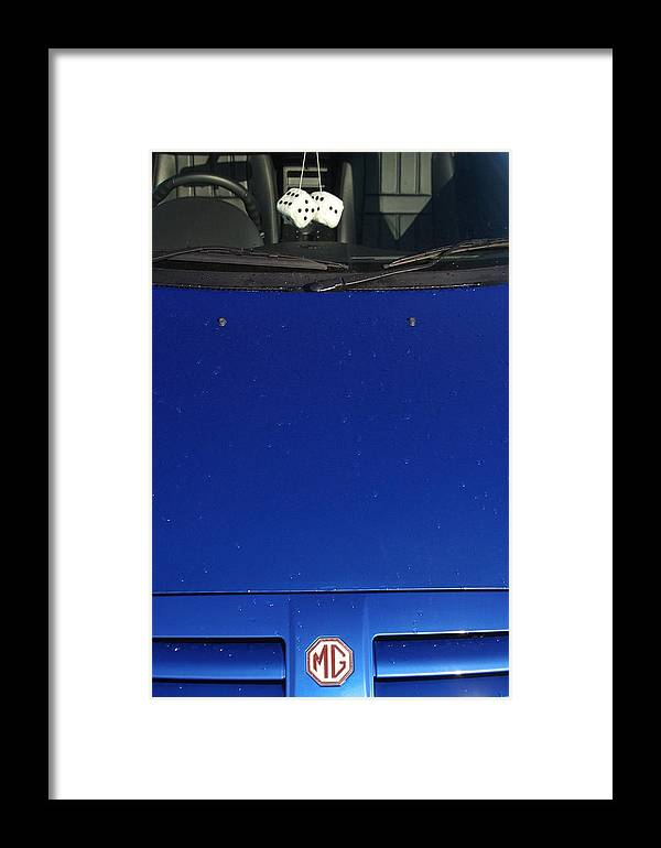 Jez C Self Framed Print featuring the photograph Lucky M G by Jez C Self