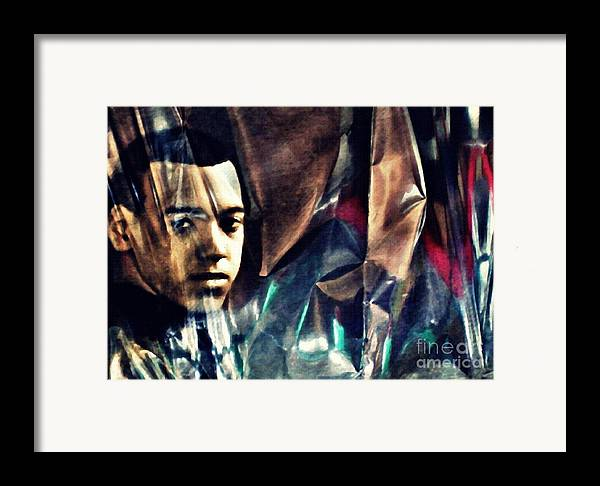 Young Man Framed Print featuring the photograph Luke by Sarah Loft