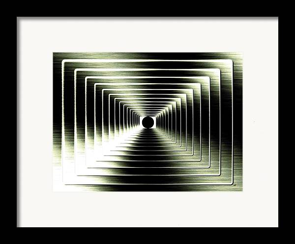 Abstract Framed Print featuring the digital art Luminous Energy 15 by Will Borden