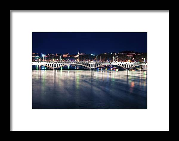 Framed Print featuring the photograph Lyon by Victor Aga