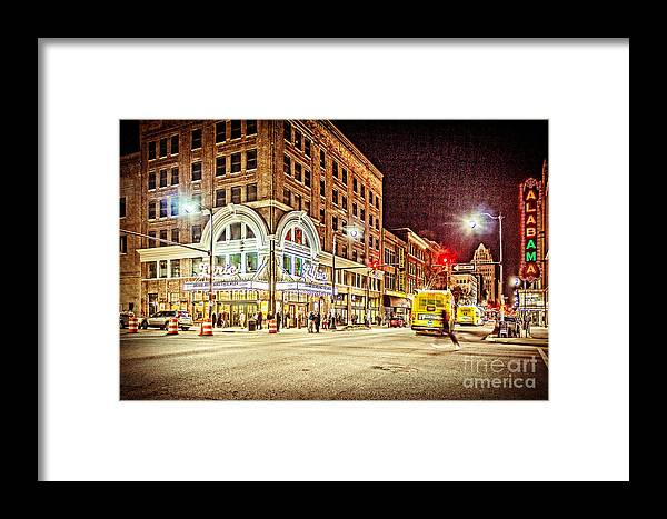 Lyric Theatre Framed Print featuring the photograph Lyric Grand Reopening by Tracy Brock