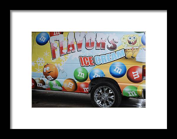 Sponge Bob Framed Print featuring the photograph M And M Flavors For The Kids by Rob Hans