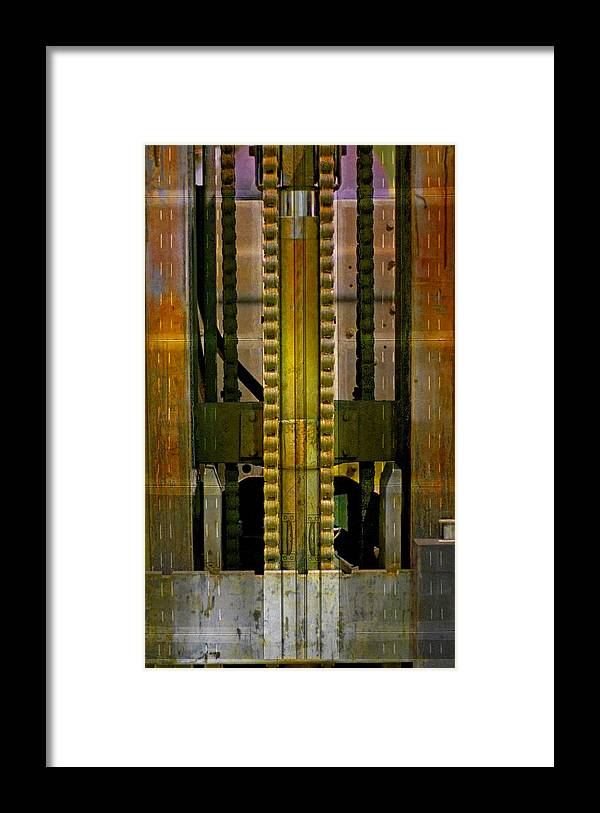 Texture Framed Print featuring the photograph Machina by Skip Hunt