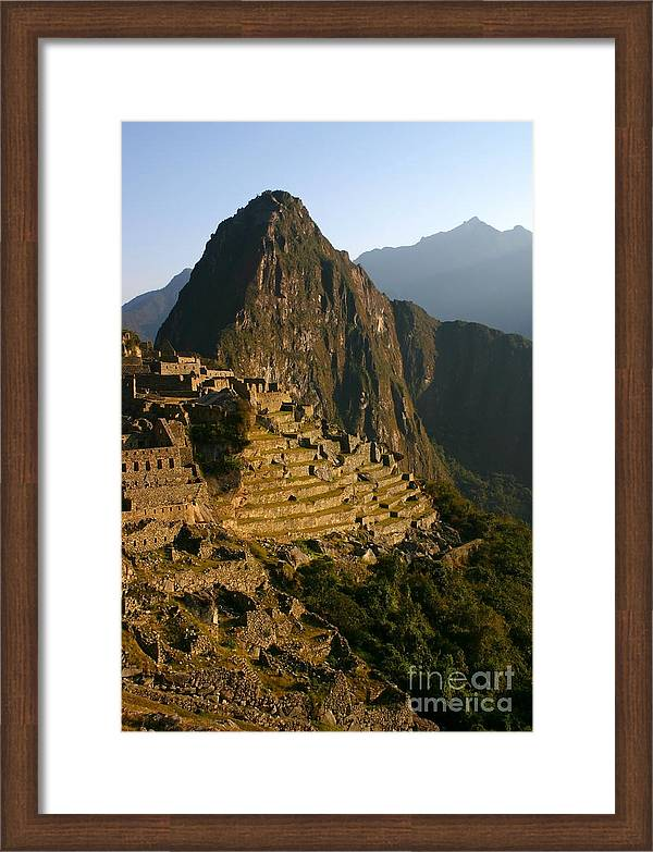 Machu Picchu at dawn by Matt Tilghman