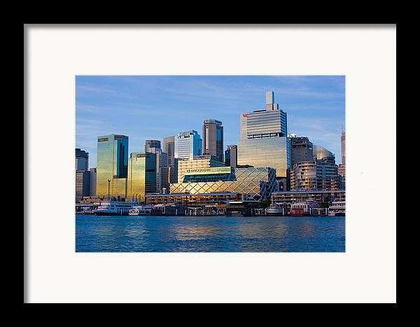 Sunset Framed Print featuring the photograph Macquarie Sunset by Charles Warren