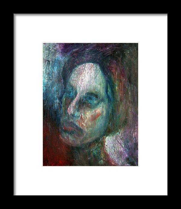 Painting Framed Print featuring the photograph Madam X by Richard Coletti