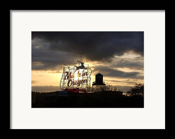 Oregon Framed Print featuring the photograph Made In Oregon by Heather S Huston