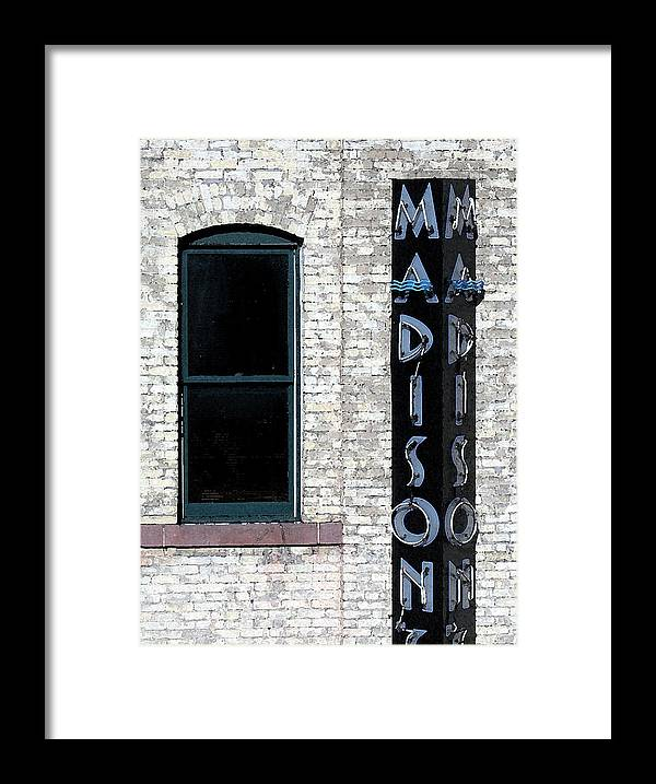 Modern Framed Print featuring the photograph Madison by Gary Everson