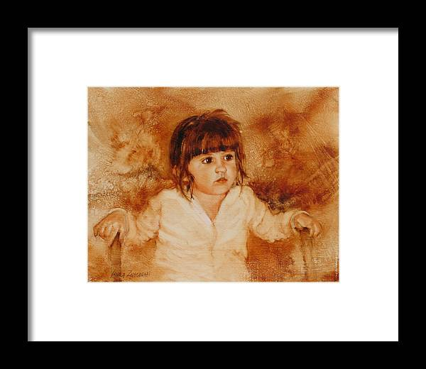 Oil Painting Framed Print featuring the painting Madison by Laura Lee Zanghetti