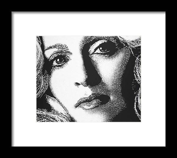 Portrait Framed Print featuring the painting Madonna by Max Eberle