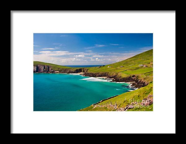 Ireland Framed Print featuring the photograph Magic Lands by Gabriela Insuratelu