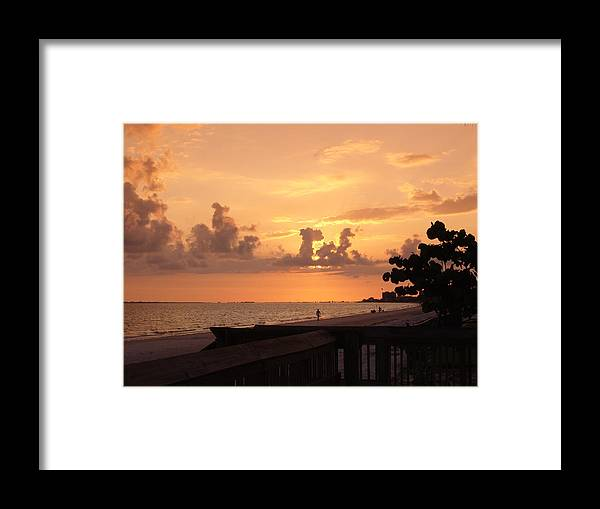 Tropical Framed Print featuring the photograph Magic Of Sunset by Florene Welebny