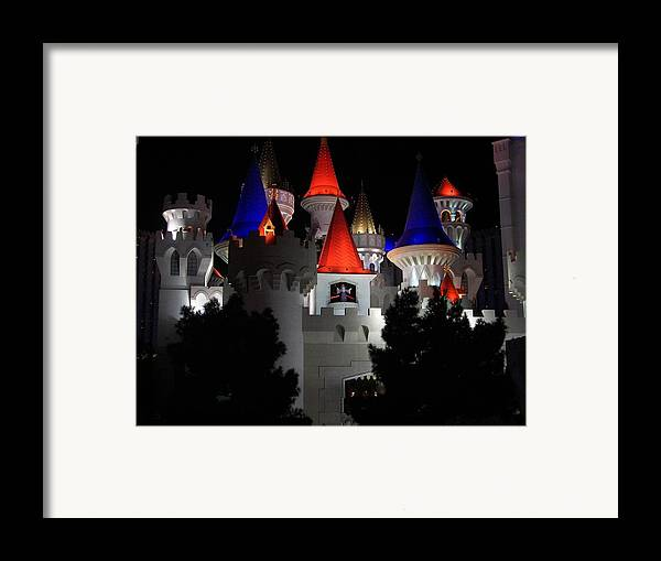 Vegas Framed Print featuring the photograph Magical Vegas Nights by Kim