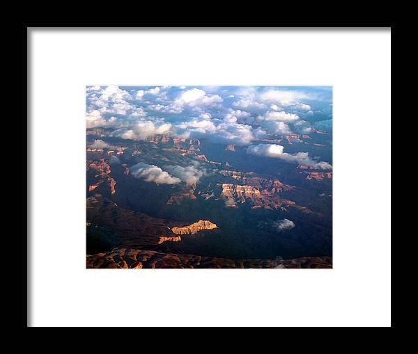 Grand Canyon Framed Print featuring the photograph Magnificent Grand Canyon by Janet Hall