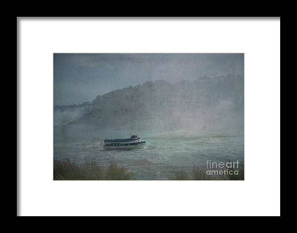 Maid Of The Mist Framed Print featuring the photograph Maid Of The Mist by Luther Fine Art