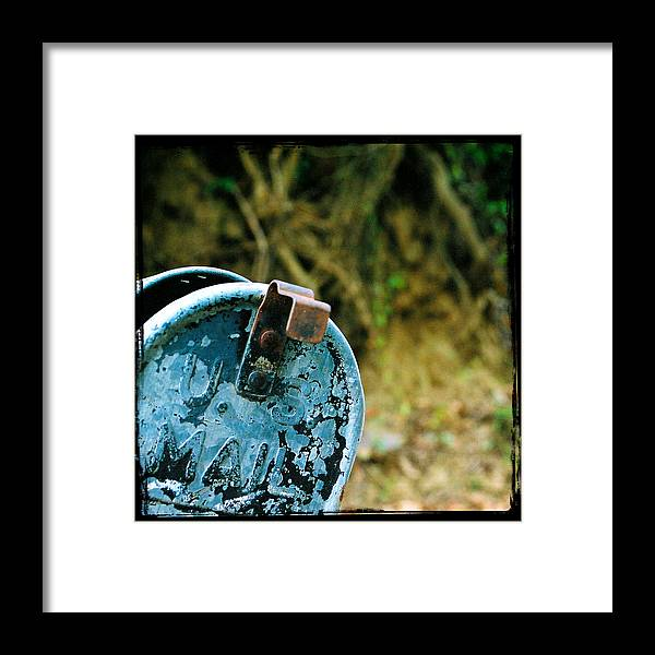 Mailbox Framed Print featuring the photograph Mail by Leon Hollins III