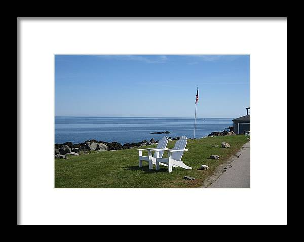 Maine Framed Print featuring the photograph Mainely Summer by Ashley Butler