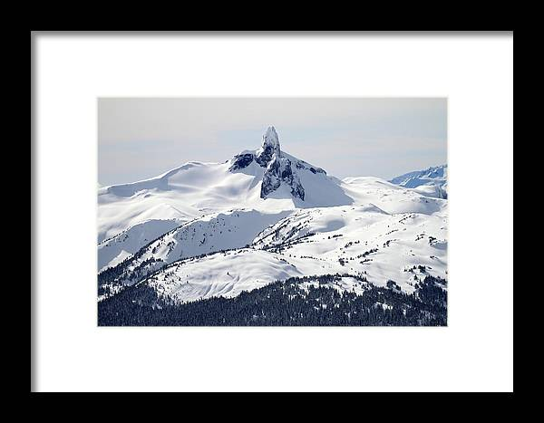 Black Tusk Framed Print featuring the photograph Majestic Black Tusk by Pierre Leclerc Photography