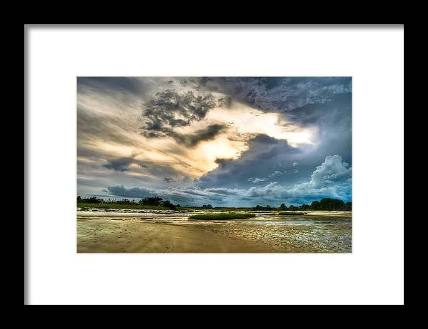 Beach Framed Print featuring the photograph Majestic Sky by Rich Leighton