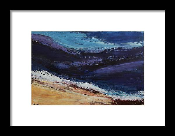 Canvas Print Framed Print featuring the painting Majesty by K Batson Art