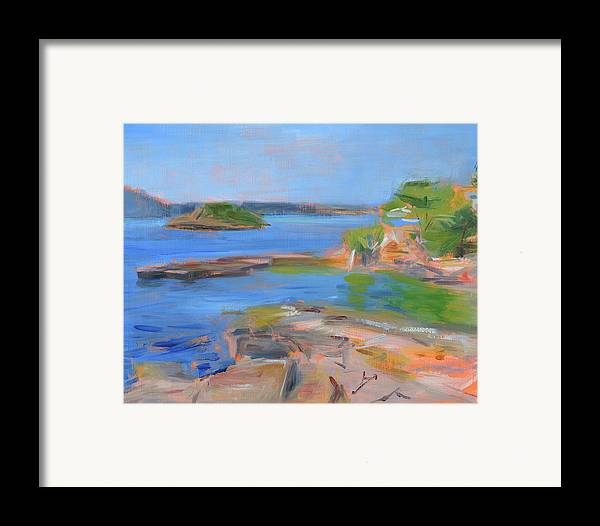 Majorca Framed Print featuring the painting Rcnpaintings.com by Chris N Rohrbach