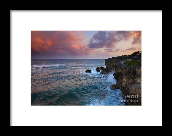 Makewehi Framed Print featuring the photograph Makewehi Sunset by Mike Dawson