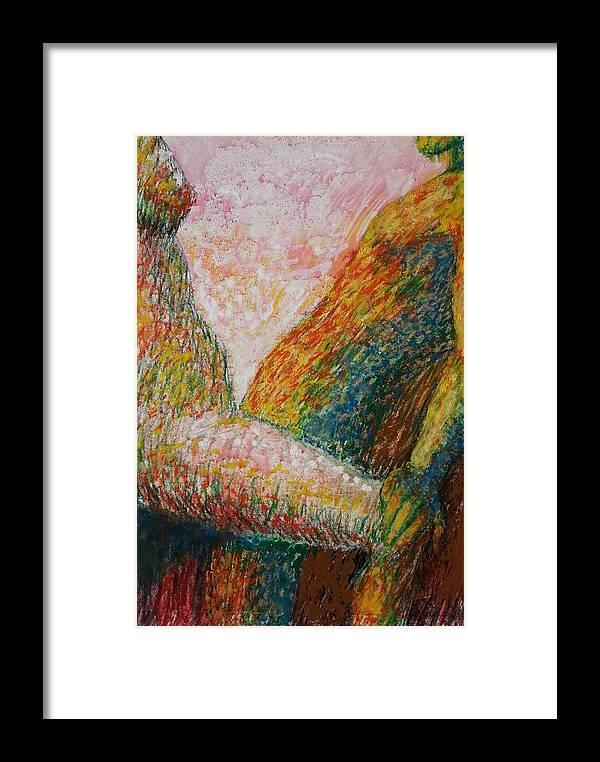 Making Love Framed Print