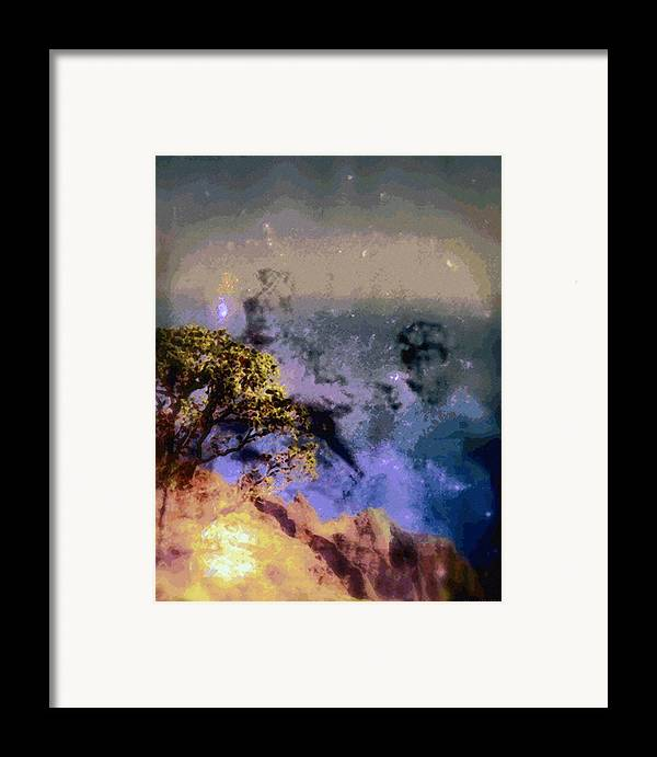 Rainbow Colors Digital Framed Print featuring the photograph Manahuna by Kenneth Grzesik