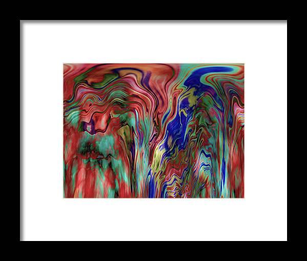 Abstract Framed Print featuring the photograph Mandolin Rain 2 by Elizabeth Tillar