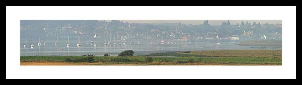 Manningtree Framed Print featuring the photograph Manningtree Morn by Mike Bambridge