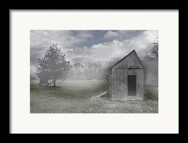 Farm Framed Print featuring the photograph Manor Road Farm by Tom Romeo