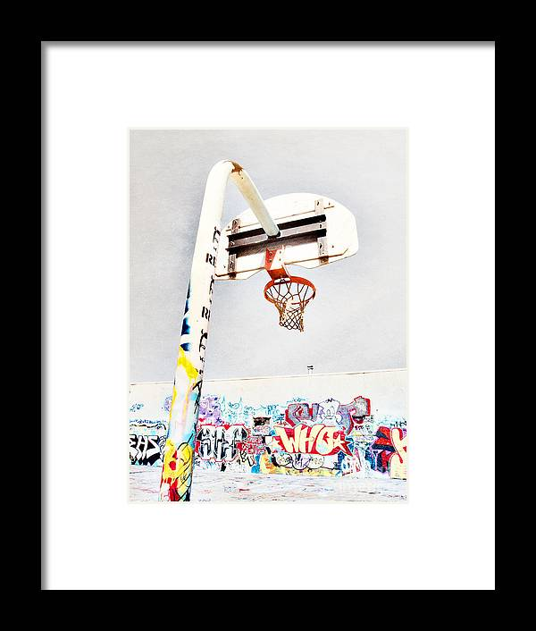 Basketball Framed Print featuring the photograph March 23 2010 by Tara Turner