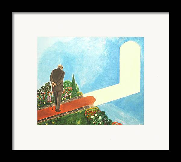 March Framed Print featuring the painting March Of Age by Darren Stein