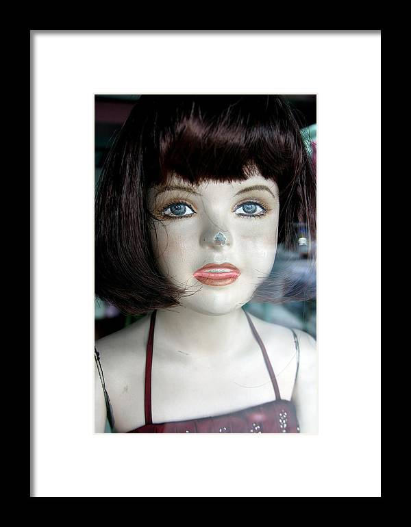 Jez C Self Framed Print featuring the photograph Maria Fi by Jez C Self