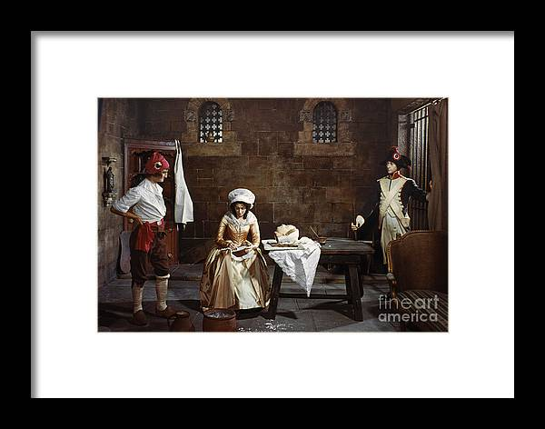 1793 Framed Print featuring the photograph Marie Tussaud (1760-1850) by Granger
