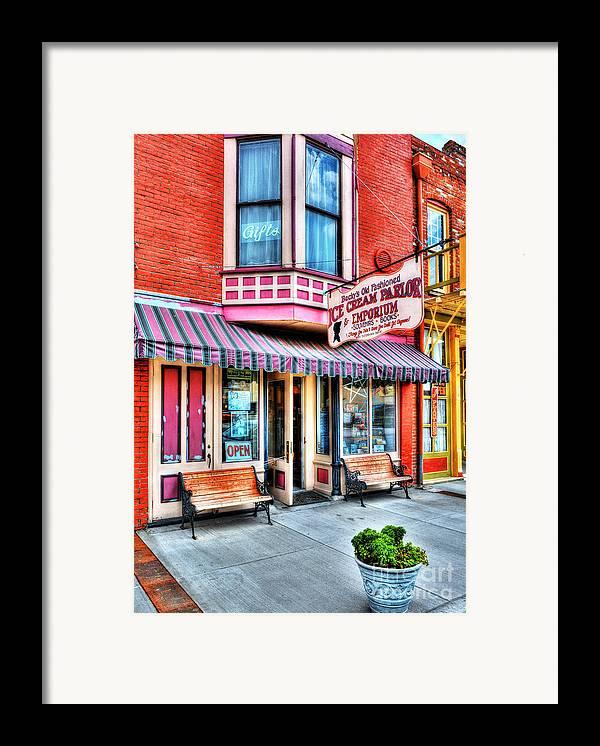 Hannibal Missouri Framed Print featuring the photograph Mark Twain's Town 2 by Mel Steinhauer
