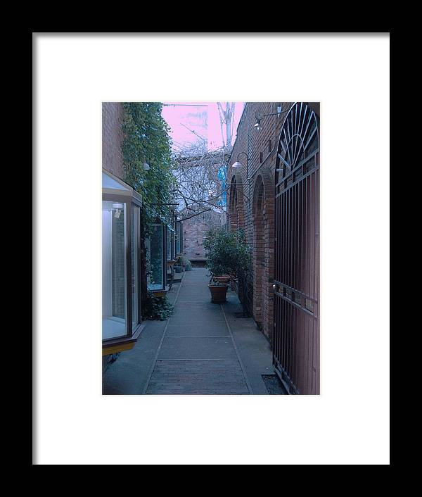 Architecture Framed Print featuring the photograph Market Alley by James Johnstone