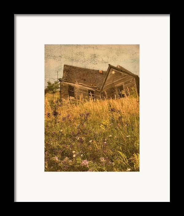 South Dakota Framed Print featuring the photograph Market Collapse by Tingy Wende