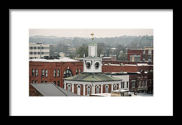 Market House Skyline - Fayetteville North Carolina Framed Print