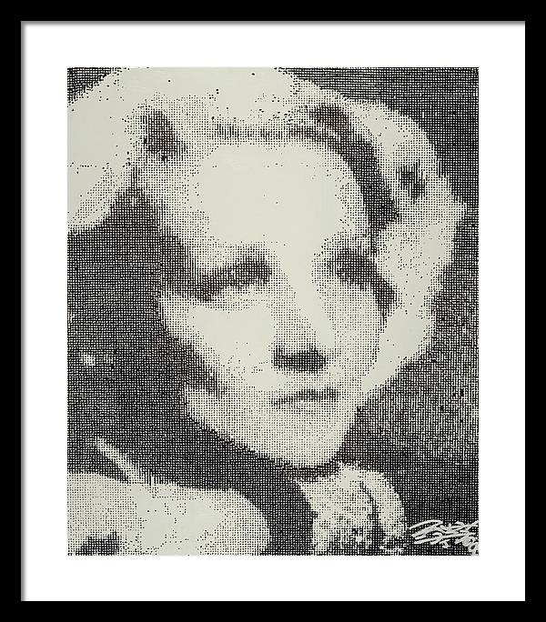 Nostalgia Framed Print featuring the painting Marlene by Randy Ford