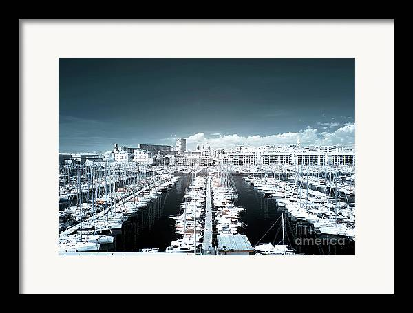 Marseille Blues Framed Print featuring the photograph Marseille Blues by John Rizzuto