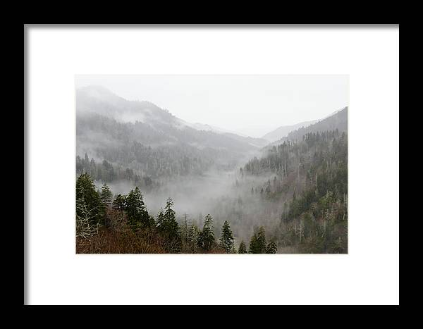 Clouds Framed Print featuring the photograph Marvelous Mist by Kristina Plaas