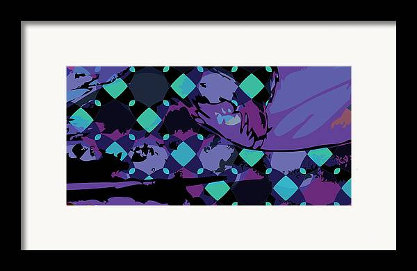Abstract Framed Print featuring the digital art Mary 1 by Scott Davis