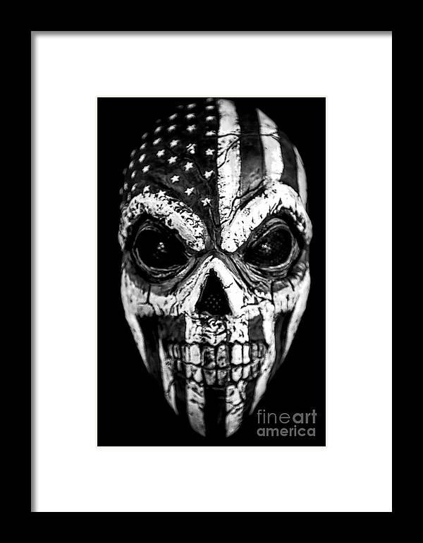 Kremsdorf Framed Print featuring the photograph Mask Of Life by Evelina Kremsdorf