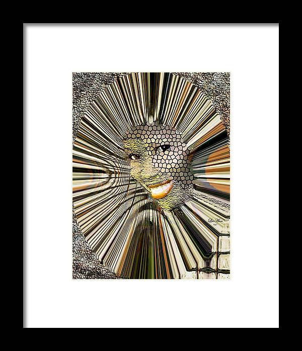 Portrait Framed Print featuring the photograph Masquerade by LeeAnn Alexander